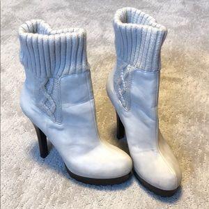 J Lo bootie heels    Sz 10